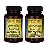 Swanson Maximum Strength Apple Polyphenols 125 Milligrams 60 Capsules