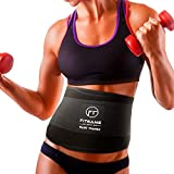 FITGAME Waist Trimmer Trainer Slim Belt for Men & Women | Stomach Body Sweat Waist Wrap | with...
