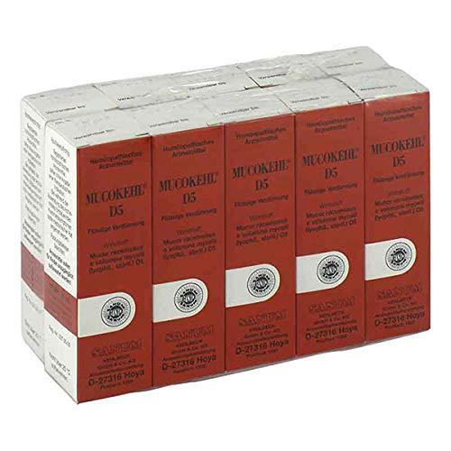 MUCOKEHL Tropfen D 5 10X10 ml