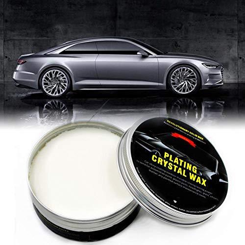 Car Wax Premium Carnauba Crystal Hartwachs Lackpflege Kratzreparatur Pflege Wachslack Diamantbeschichtung Für Feinstes Autowachs Und Politur
