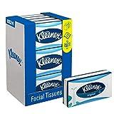 Kleenex 8824 Caja de Pañuelos, 12 Paquetes de 72 hojas, 3 Capas, Suaves y Resistentes, Sin Fragancia, Color: Blanco, Original, 08824000