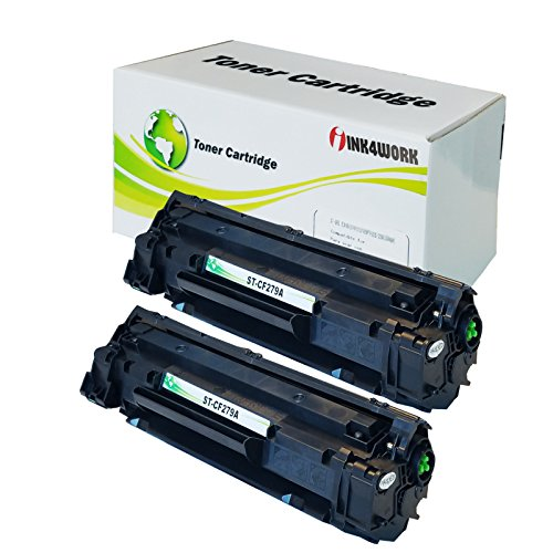 Price comparison product image INK4WORK Compatible Toner Cartridge Replacement for HP CF279A 79A to use with Laserjet Pro M12a M12w MFP M26a M26nw Printer (Black,  2-Pack)