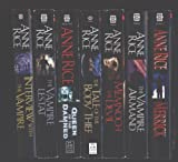 Anne Rice 7 Book Set Interview with the Vampire, The Vampire Lestat, Queen of the Damned, The Tale of the Body Thief, Memnoch the Devil, The Vampire Armand and Merrick (Vampire Chronicles)