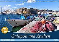 Gallipoli und Apulien - Faszination Sueditalien (Wandkalender 2022 DIN A4 quer): Farbenfroh mit hoher Leuchtkraft praesentiert sich die Landschaft Apuliens mit Schwerpunkt Gallipoli. (Monatskalender, 14 Seiten )