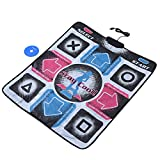 Dance Pad, Dance Mat Pad Blanket, Non Slip Dance Blanket Pad Durable Wear Resistant TV Dance Mat Pad Dancer Blanket USB Dancing Step Dance Mat Pad for PC Laptop Video Game