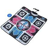 Tappetino da ballo Usb,Danza Pad, antiscivolo Resistente Resistente all'usura Dancing Step Dance Mat Pad Dancer Coperta t con USB per PC