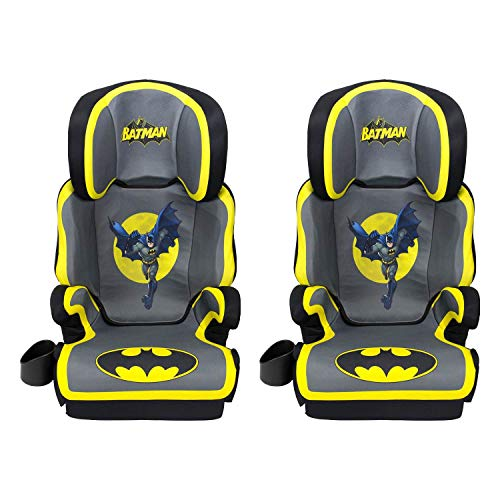 Kids Embrace DC Comics Batman High Positioning Back Toddler Car Seat (2 Pack)