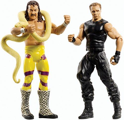 Figur WWE Jake the snake Roberts & Dean Ambrose Battlepack Serie 30