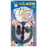 ピーツール(P.Tool) 3way 拡大鏡 スタンド・マグネット・クリップ 20403