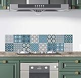 Teseo- Pack 16 Pegatinas para Azulejos de Pared | Adhesivo Pared | Pegatinas de...