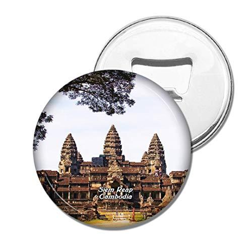 Weekino Kambodscha Angkor Wat SIEM Reap Bier Flaschenöffner Kühlschrank Magnet Metall Souvenir Reise Gift