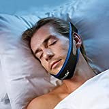 SnoreDoc™ Snore Stopper Chin Strap –– Natural And Instant Snore Relief Sleep Aid Device – NEW AND IMPROVED