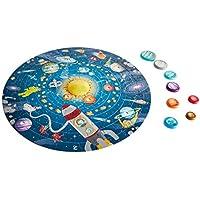 Hape- Puzzle Sistema Solar, Multicolor (E1625)