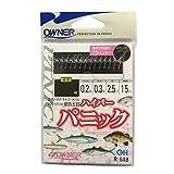OWNER(オーナー) 仕掛け ハイパーパニック 10本 金細袖 3.5号 0.3号 1.7m R-518 30518
