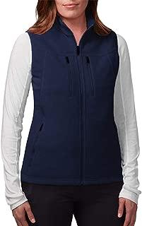 SCOTTeVEST Fireside Fleece Vest for Women - 15 Pockets - Warm Fleece Travel Vest