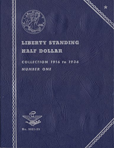 1916-1936 LIBERTY STANDING HALF DOLLAR 35 COIN COIN; ALBUM, BINDER, BOARD, BOOK, CARD, COLLECTION, FOLDER, HOLDER, PAGE…