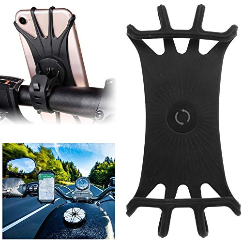 Tenpac Soporte para teléfono de Bicicleta, Soporte para teléfono de Bicicleta Negro, para Bicicletas de Scooters eléctricos