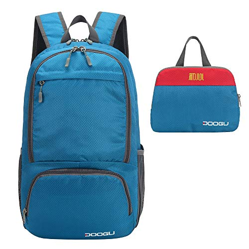 DooGu Lightweight Backpack 30L Hiking Daypack Foldable Camping bag...