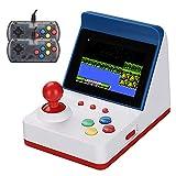 LIAWEI Retro Mini consola de juegos Arcade + asas dobles, consola de videojuegos portátil clásica...