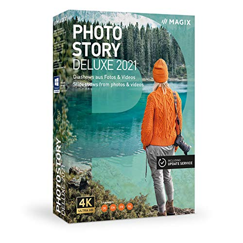 Photostory Deluxe – Version 2021 – Animierte Diashow aus Fotos & Videos|Deluxe|mehrere|limitless|PC|Disc|Disc