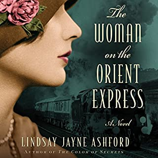 The Woman on the Orient Express audiobook cover art