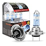 King showden H7 Halogen Headlight Bulbs Upgraded version 12V/55W, Next Generation, 100% more