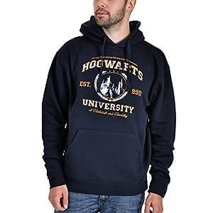 Harry Potter - Sudadera con capucha - Magic University - Azul 15