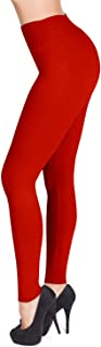 High Waisted Leggings - 25 Colors - Super Soft Full Length Opaque Slim