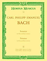 BACH C.P.E. - Sonatas 2コ en La menor y Re Mayor para Flauta y BC (Walther)