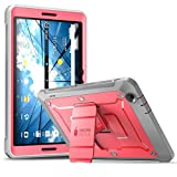 AT&T Primetime Tablet Case, SUPCASE [Heavy Duty] [Unicorn Beetle PRO Series] Full-Body Rugged Protective Case with Built-in Screen Protector for AT&T/ZTE K92 Primetime 2017 (Pink)