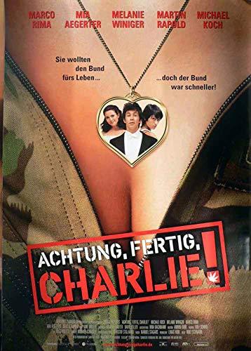 Achtung, fertig, Charlie! Filmposter 120x80cm gerollt