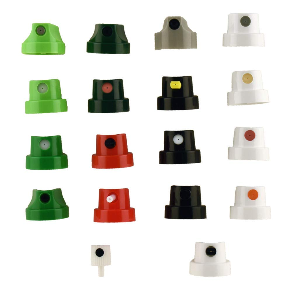 Spray Paint Caps, Master Cap Set, Compatible with Montana Cans