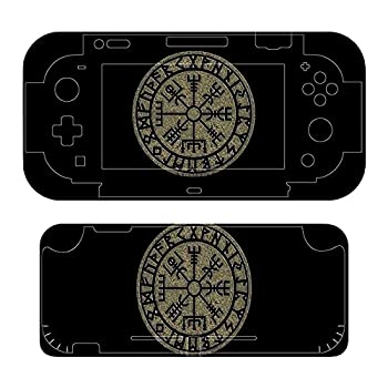 Vegv-isir -Viking C-ompass Norse,- Symbol Protection Nordic Vikings The Skin of The Switch Controller-The Whole Body PVC Sticker Decal Covers The Skin of The Switch Controller-The Delicate Matte