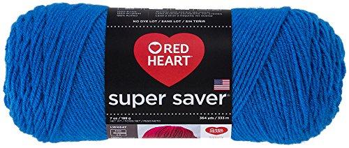 Red Heart Garn-Modell Super Saver. Feststoffe Massiv: Blau