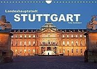 Landeshauptstadt Stuttgart (Wandkalender 2022 DIN A4 quer): Die reizvolle baden-wuerttembergische Hauptstadt Stuttgart in einem Kalender vom Reisefotografen Peter Schickert (Monatskalender, 14 Seiten )