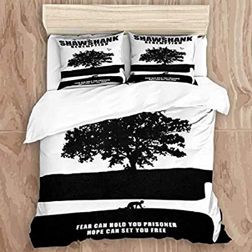 HUA JIE Teen Bedding Set,Duvet Cover Set,3D Print Decorative 3 Piece Bedding Set With Pillow Shams