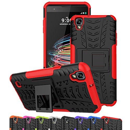 for LG Stylo 4 Case,for LG Q Stylus Phone Cases, Ueokeird Heavy Duty Armor Shock Proof Dual Layer Swivel Belt Clip Holster Kickstand Combo Case Cover for LG Stylo 4