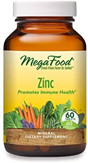 Sponsored Ad - MegaFood, Zinc, Immune Health Support, Mineral and Dietary Supplement Vegan, 60 Tablets (60 Servings)
