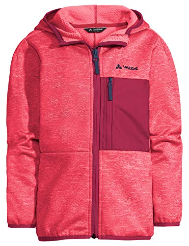 VAUDE Kinder Jacke Kids Kikimora Jacket, Fleecejacke, bright pink, 134/140, 413919571400
