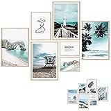 Premium Poster Set - 7 Beidseitige Bilder – Poster Meer