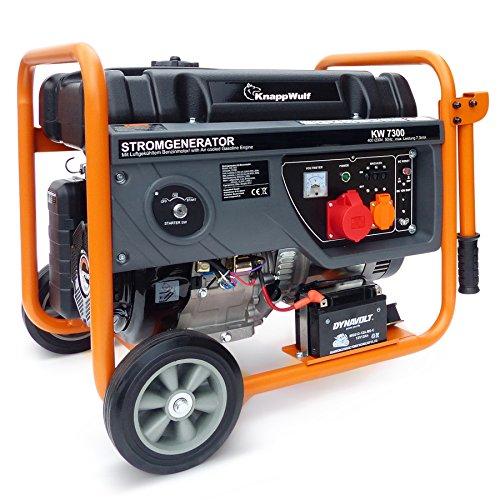 KnappWulf KW7300 3-phasen Benzin Generator Notstomaggregat