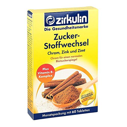 DISTRICON Zirkulin Zuckersto Zimt Pl, 1er Pack(1 x 61 g)