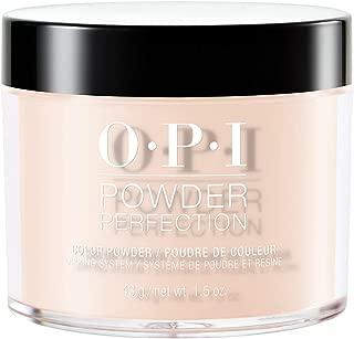 OPI Powder Perfection, Dipping Powder Nail Color, Nail Polish, Be There in a Prosecco