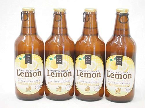 4本セット金しゃち 瀬戸内産レモン果汁使用 フルーツドラフトレモン(愛知県) 330ml×4本