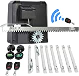 Sfeomi 200W Electric Sliding Gate Operator 600kg Automatic Gate Opener Kit Remote Controls