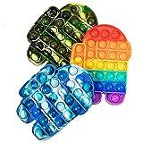 LANQKUISZ Pop Push its tie dye Bubble Sensory...