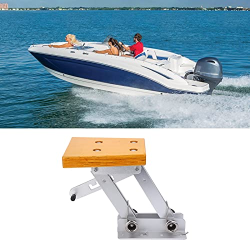 minifinker Outboard Motor Mount, Boat Motor Mounting Board Easy To Use Stable for Yachts for Medium-sized Motor Boats
