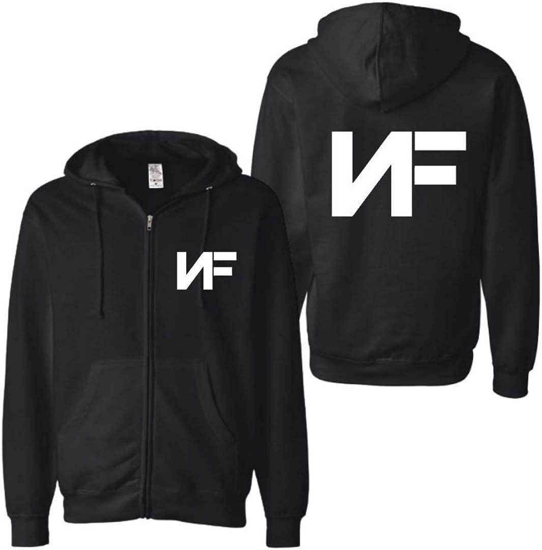 NF Zip Up Hoodie Unisex Hooded Sweatshirt