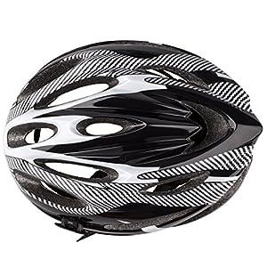 Sodial(R)21 Ventila Ultraligeros Deportes Ciclismo Casco con Guarnicion Cojin Montana Bici Bicicleta Adulto Blanca: Amazon.es: Deportes y aire libre