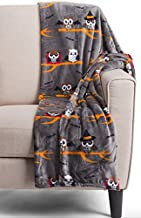 Berkshire Blanket Halloween Owl Throw Blanket Opulence Mummy Vampire Fleece